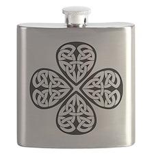 celtic-four-leaf-clover Flask