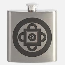 shambala-symbol Flask