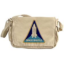 NASA-original-space-shutle-patch Messenger Bag