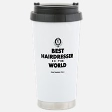 The Best in the World – Hairdresser Travel Mug