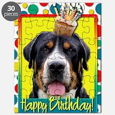 BirthdayCupcakeSwissMountainDog Puzzle
