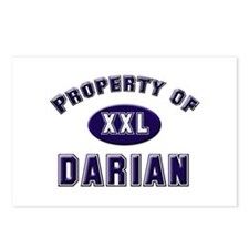 Property of darian Postcards (Package of 8)