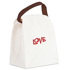 makelovedrk Canvas Lunch Bag