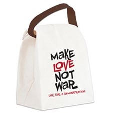 makelove Canvas Lunch Bag