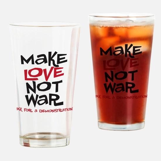 makelove Drinking Glass