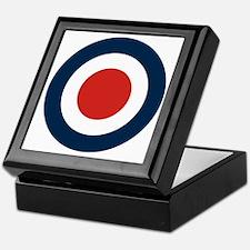 Mod Target Keepsake Box