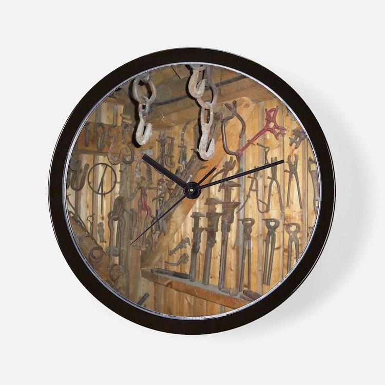 farmequipcal1_jan Wall Clock