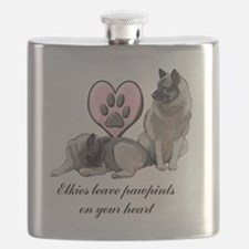 elkie pawprints Flask