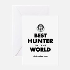 The Best in the World – Hunter Greeting Cards