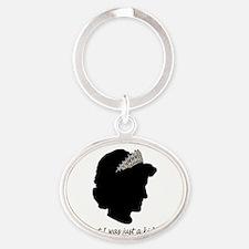 Diana-Design-Smaller Oval Keychain