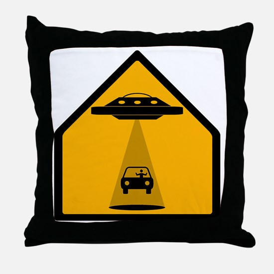Abduction Zone Throw Pillow