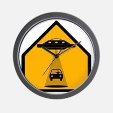 Abduction Zone Wall Clock