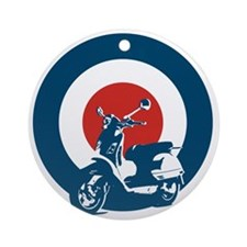 Scooter Round Ornament