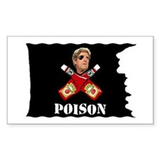 Kerry Jolly Roger Rectangle Decal