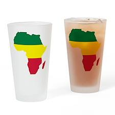 africa_reggae Drinking Glass