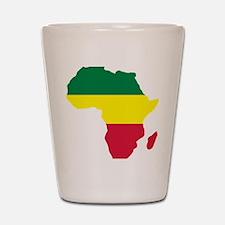 africa_reggae Shot Glass