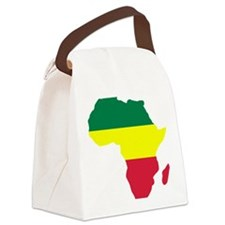 africa_reggae Canvas Lunch Bag