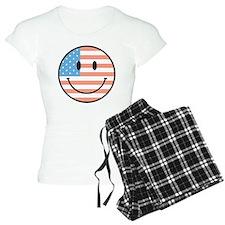 flag smiley Pajamas