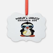 birthday boy coolest Ornament