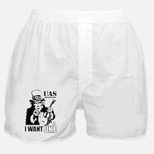 I WANT UKE Boxer Shorts