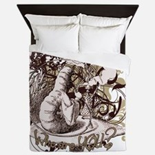 caterpillar-flourishes Queen Duvet