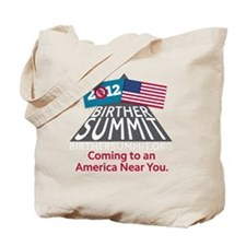 BirtherSummitShirtDark Tote Bag