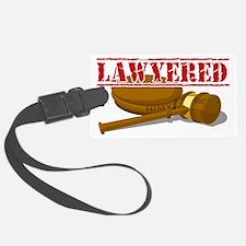 Lawyered Luggage Tag