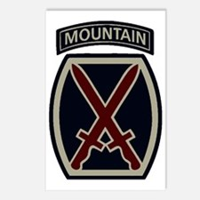 10th Mountain Division AC Postcards (Package of 8)