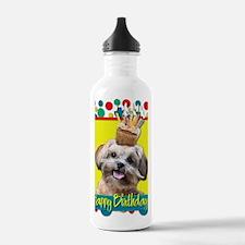 BirthdayCupcakeShihPoo Water Bottle