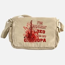 Im Rockin Red for my Grandpa Messenger Bag