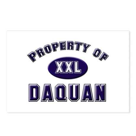 Property of daquan Postcards (Package of 8)