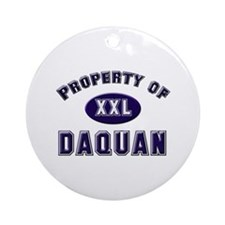 Property of daquan Ornament (Round)