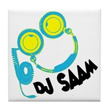 djsaam shirt Tile Coaster
