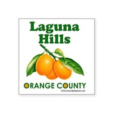 "laguna-hills-design Square Sticker 3"" x 3"""
