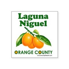 "laguna-niguel-design Square Sticker 3"" x 3"""