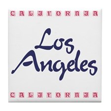 LosAngeles_10x10_California Tile Coaster