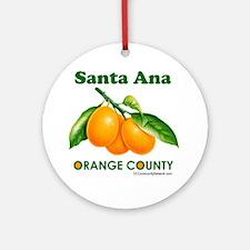 santa-ana-design Round Ornament