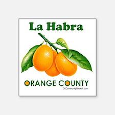 """la-habra-design Square Sticker 3"""" x 3"""""""