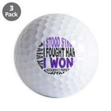 D Survivor 4 Lymphoma Hod Golf Ball