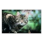 Valuable Pet Lesson #2 Rectangle Sticker