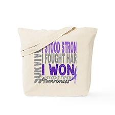 D Survivor 4 Lymphoma Hodgkins D Tote Bag