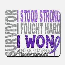 D Survivor 4 Lymphoma Hodgkins D Mousepad