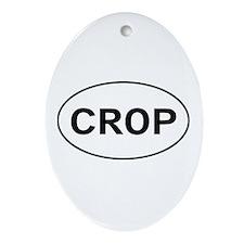 Scrapbooking - Crop Oval Ornament