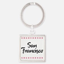 SanFrancisco_10x10_California Square Keychain