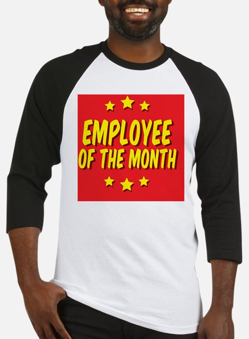 employee-of-the-month-button-001 Baseball Jersey