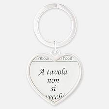 apron-tavola Heart Keychain