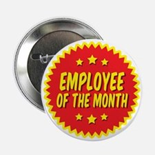 """employee-of-the-month-001 2.25"""" Button"""