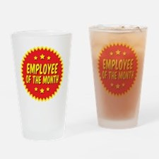 employee-of-the-month-001 Drinking Glass