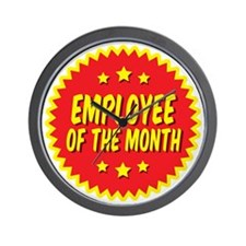 employee-of-the-month-001 Wall Clock