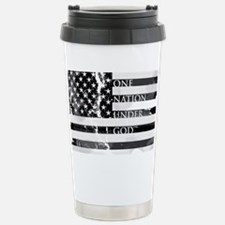 one nation gray Travel Mug